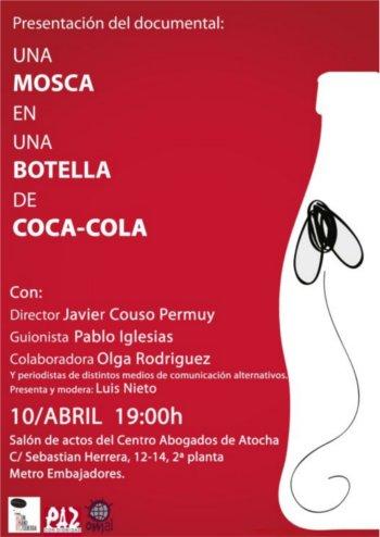 Una Mosca en una Botella de Cocacola